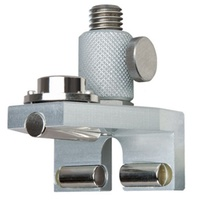 "Magnetic track measuring angle with swiveling 5/8"" thread"