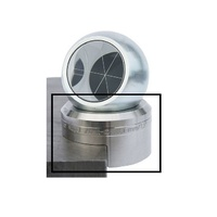 "Magnetic ball base for 1.5"" ball prisms, for 90° edges, holding force 0.4kg, height offset 25 mm"