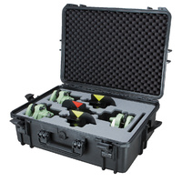 Protective case for 3x traverse kits with foam insert