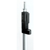Prism Pole, telescopic 1.30 to 2.15m with Leica spigot